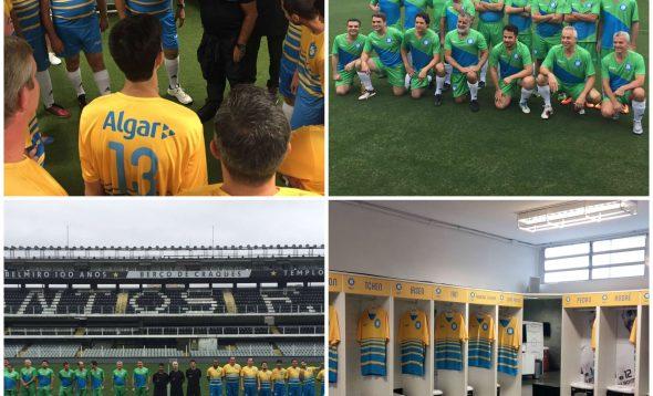 Algar Tech leva clientes para viver a experiência de jogador na Vila Belmiro